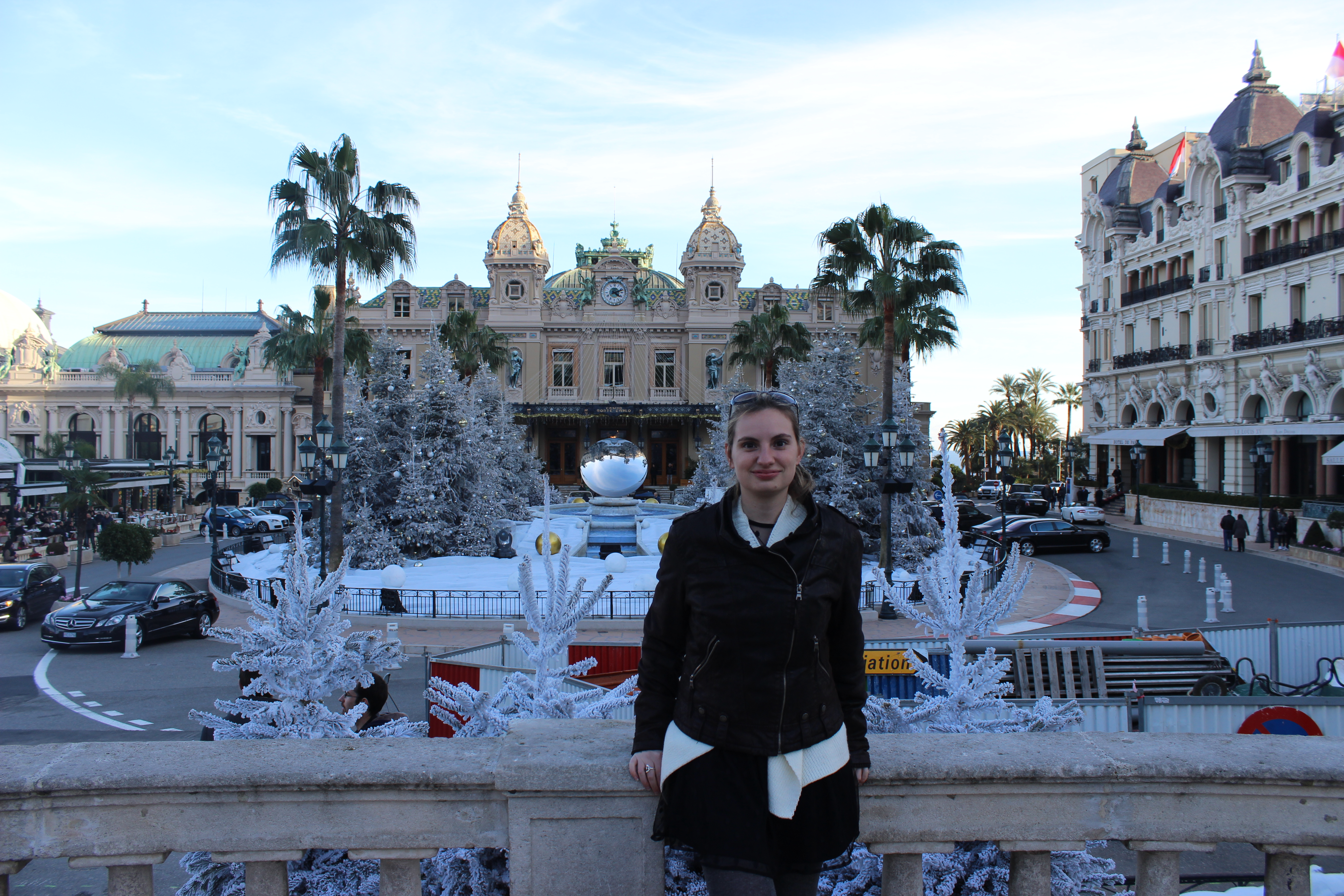 Petite photo en face du Casino de Monaco