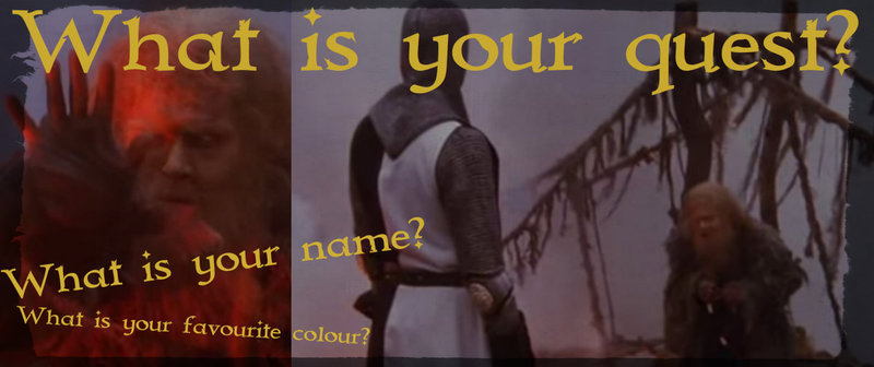 3 questions that could have taken Monty Python to the Battle of Malta :)