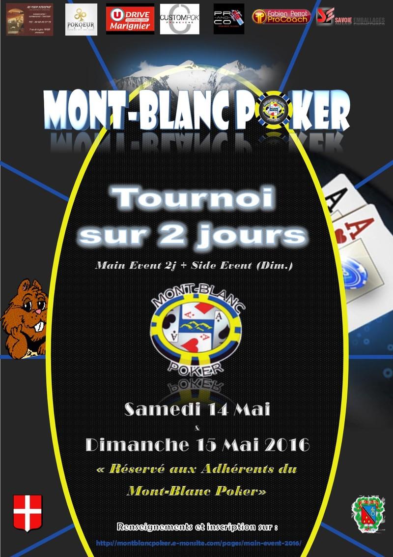 Tournoi du Mont-Blanc Poker (Magland-Haute-Savoie)
