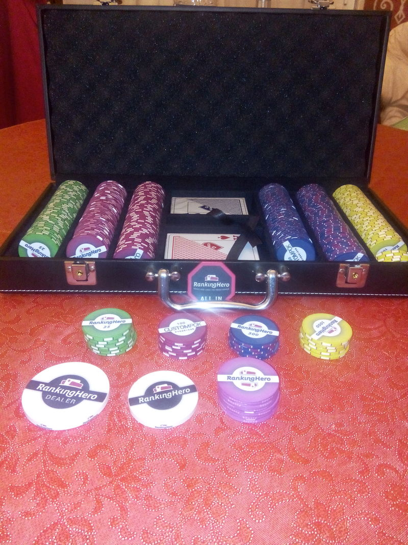 Malette Poker RKH