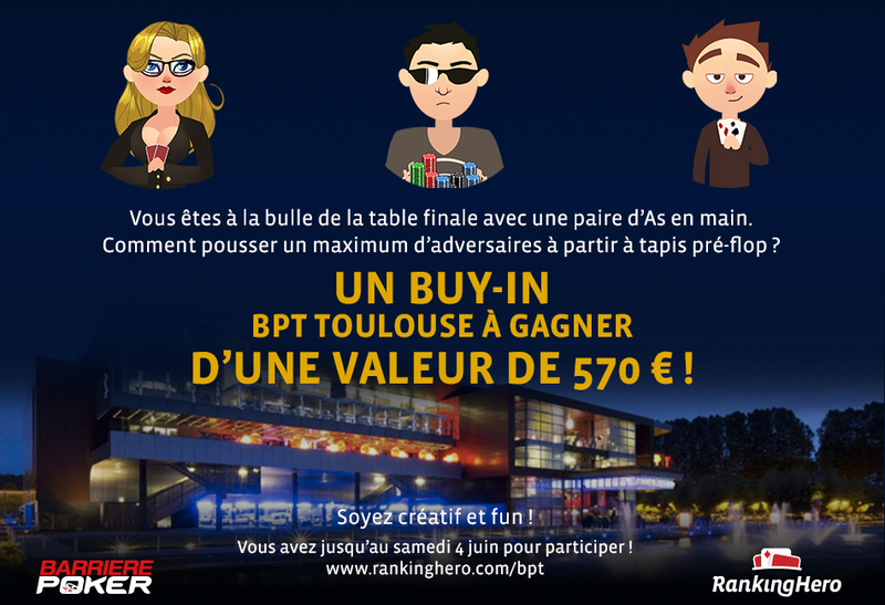 MISSION BPT TOULOUSE: GAGNEZ UN TICKET À 570 € !