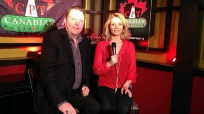 Kelly Kellner and Gillian Epp at the CPT Media Center