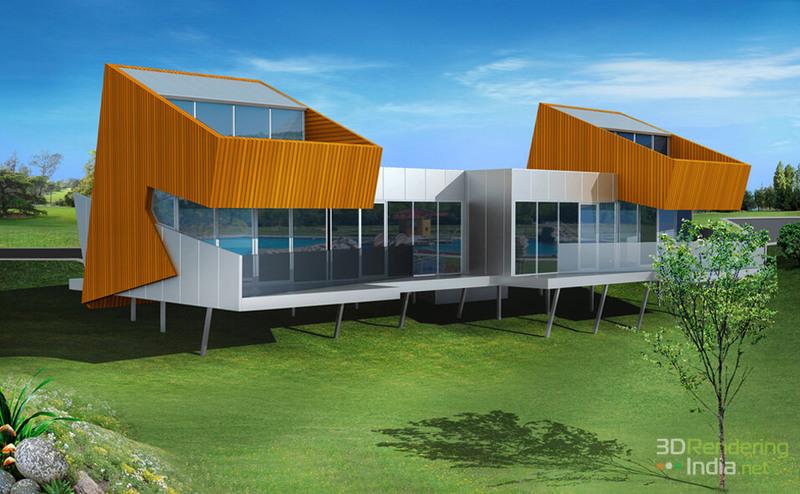 3D Architectural Rendering & 3D Interior Design Services